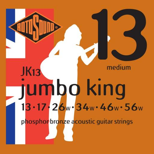 Rotosound Medium Gauge JK13 13-56
