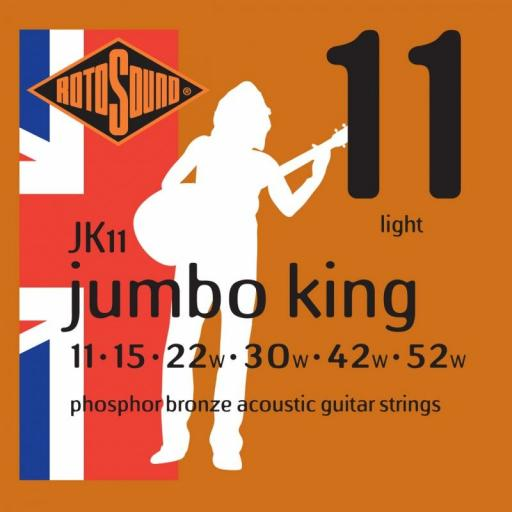 Rotosound Bronze Light JK11 11-52