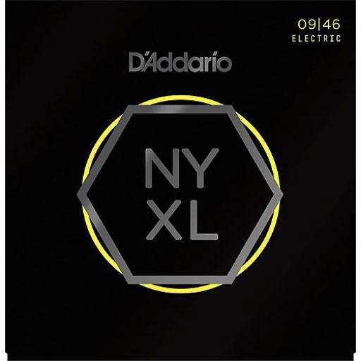 D'addario NYXL0946 Guitar Strings 9-46 Custom Light