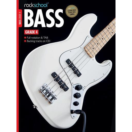 Rockschool Bass Grade 4 with Notation, Tab & CD