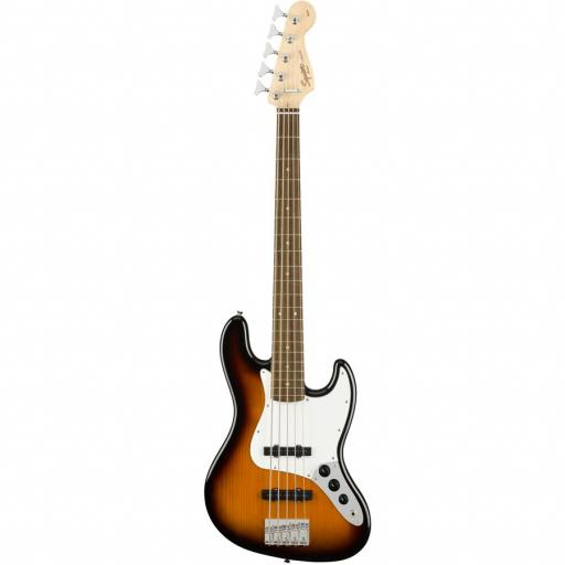 Fender Squire Affinity Series Jazz Bass 5 String Brown Sunburst