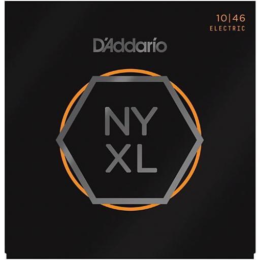 D'addario NYXL1046 Guitar Strings 10-46 Regular Light