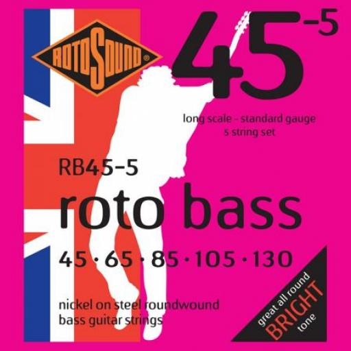 Rotosound Swing Bass RB45-5
