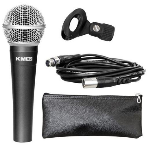 Studiomaster KM92 Dynamic Microphone
