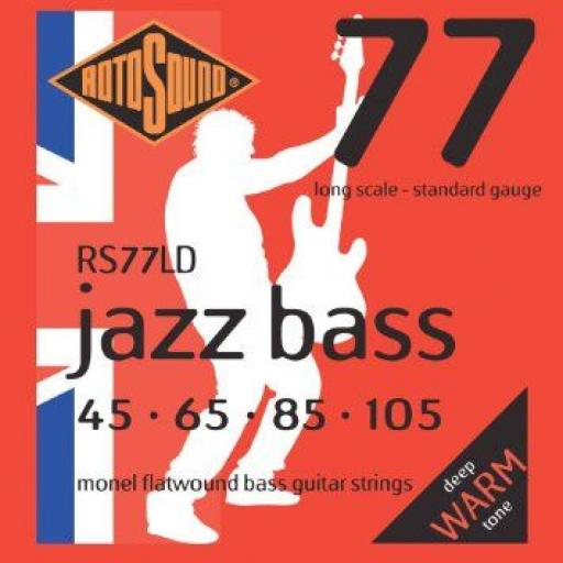 Rotosound Jazz Bass RS77LD 45-105