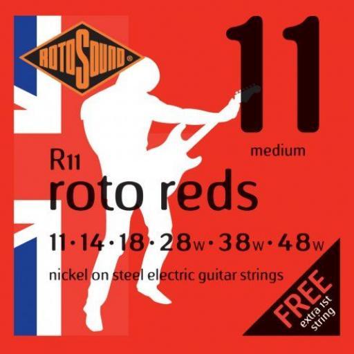 Rotosound Roto Reds Medium R11 11-48