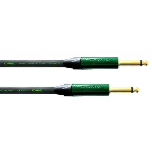 Cordial CRI 3 PP 3m Jack / Jack Instrument Cable