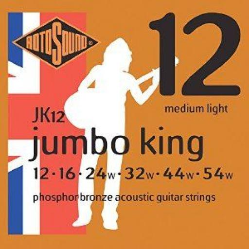 Rotosound Medium Light JK12 12-54