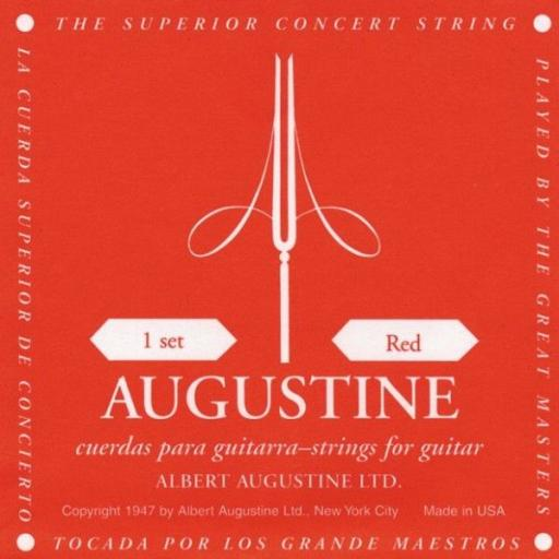 Augustine Medium Tension Classic / Red