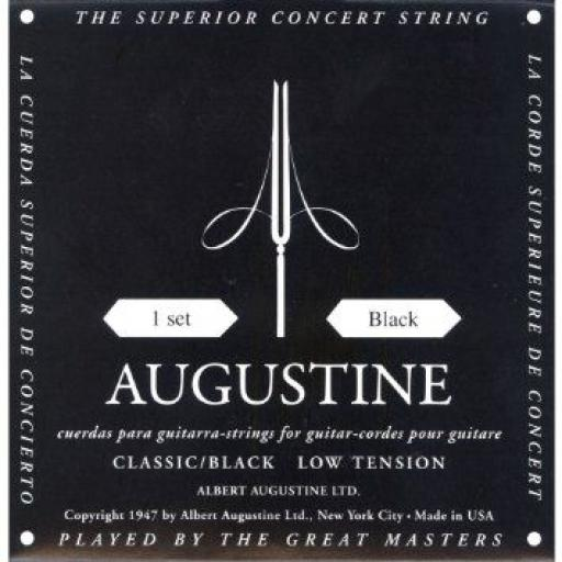 Augustine Low Tension Nylon Classic / Black