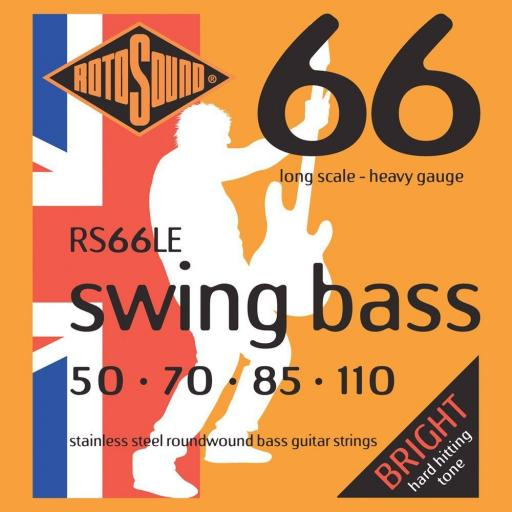 Rotorsound 66 Swing Bass Strings 50-110