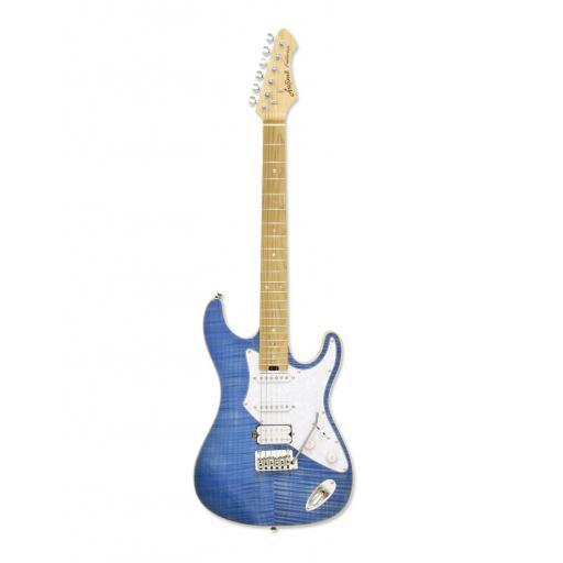 Aria 714 MKII - Fullerton - Turquoise Blue