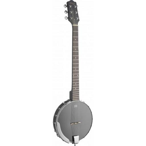 Stagg BJW-OPEN-6 - 6 String Guitar/ Banjo