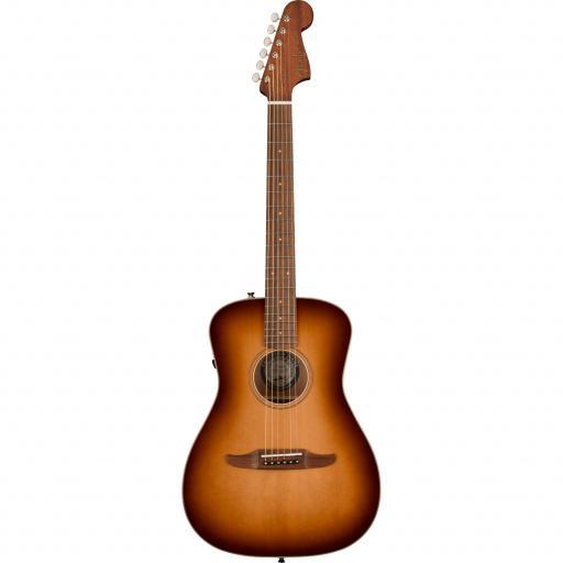 Fender Malibu Classic 'Aged Cognac Burst' - Electro-Acoustic Guitar