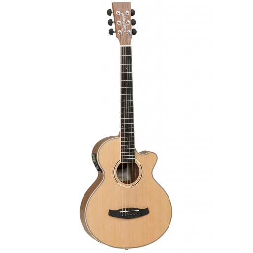 Tanglewood DBT TCE BW Electro-Acoustic w/ Built-In Tuner