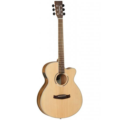 Tanglewood DBT SFCE PW w/ Built-In Tuner