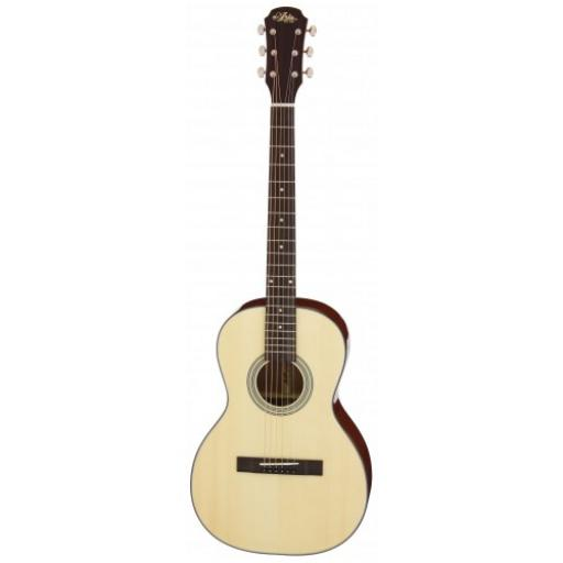 Aria 231 Parlour Sized Acoustic Guitar