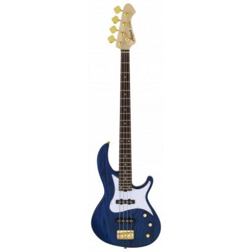 Aria RSB 42AR See-Thru Blue Bass Guitar