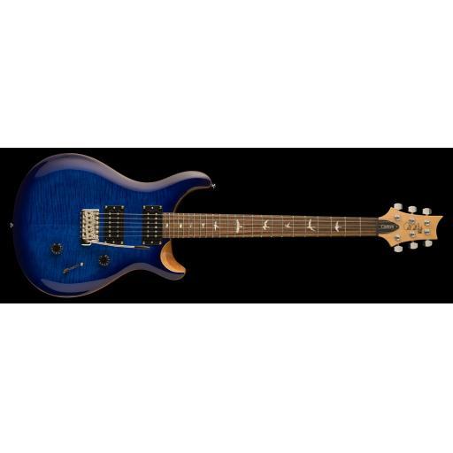 PRS SE Custom 24 in Faded Blue Burst
